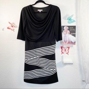 🦋 4/$20 🦋 Sandra Darren Dress Cowl Neck
